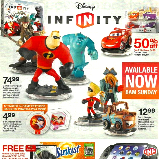 Disney Infinity Cars Playset On